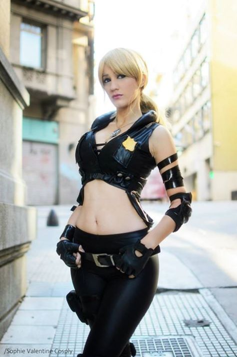 sonya blade Cosplay sexy Sophie Valentine gata