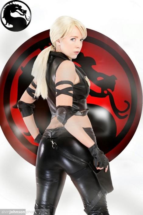 Sonya blade Cosplay sexy Toni Darling