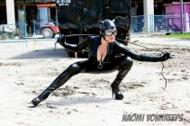 catwoman cosplay big boobs Naomi Von Kreeps mulher gato sexy
