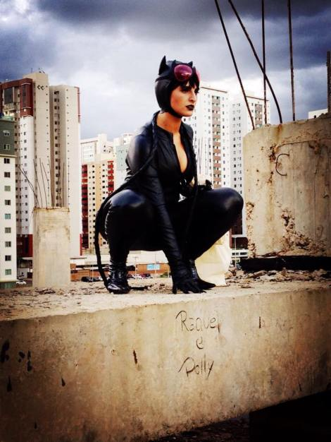 catwoman cosplay mulher gato sexy starship gostosa