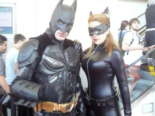 Catwoman Cosplay Nicole Marie Jean mulher gato sexy linda Batman