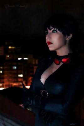 cosplay Catwoman mulher gato Danielle Vedovelli sexy gata