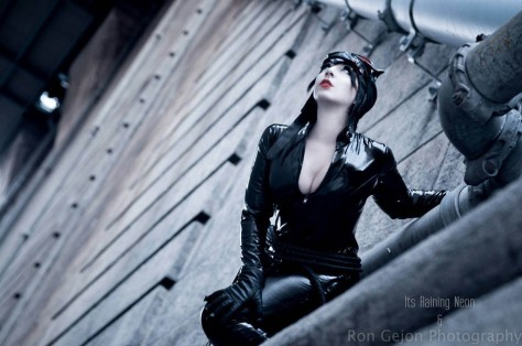 cosplay mulher gato catwoman cosplay Its Raining Neon sexy