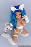Felicia Darkstalkers cosplay yaya han sexy gostosa