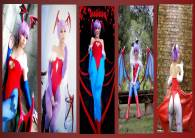 Lilith Aensland Cosplay Darkstalkers Wall