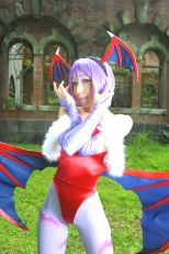 lilith darkstalkers cosplay sexy Ema Kouda