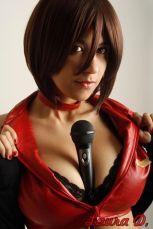 Cosplay Meiko Vocaloid Laura Pyon sexu big tits