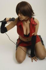 Cosplay Meiko Vocaloid Laura Pyon sexu big tits