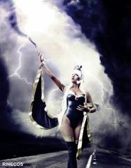cosplay storm tempestade rinecos sexy linda