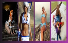 rinecos cosplay sexy wall