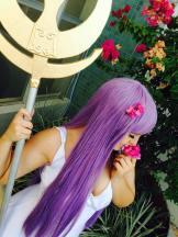 Athena cosplay Saori Kido - Saint Seiya Starship cosplay sexy kawaai saori