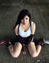 Cosplay Tifa Lockhart sexy Danielle Vedovelli gata