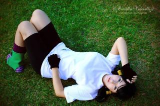 Danielle Vedovelli Cosplay Videl sexy