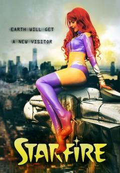 Estelar cosplay Starfire sexy cosplay Karen