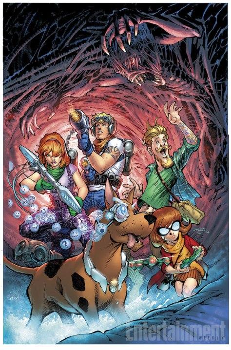 Hanna Barbera novas hqs scooby-apocalypse-color-3552f