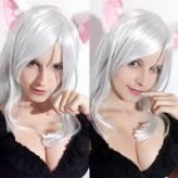 Karen Cosplay black hanekawa sexy gostosa big tits