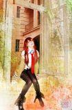 Karen Cosplay Makise Kurisu Steins Gate sexy