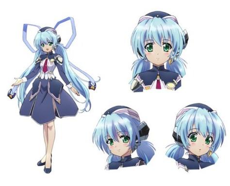 Arte Oficial da Yumemi no Anime