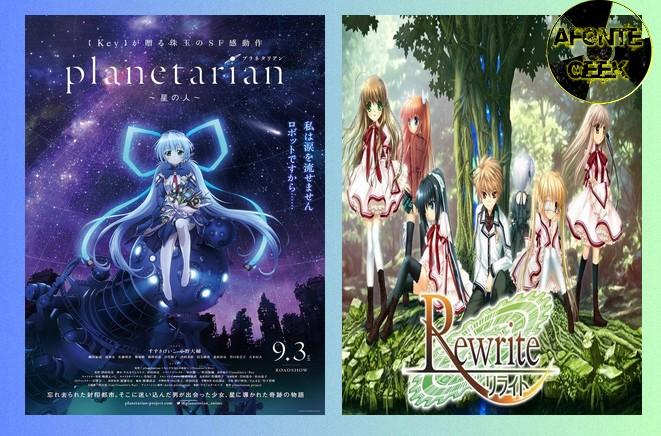 planetarian e rewrite animes key wall