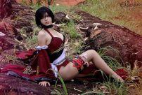 shermie cosplay Ada Wong resident evil sexy ecchi gata