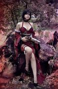 shermie cosplay Ada Wong resident evil sexy ecchi gata