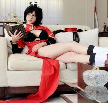 Shermie cosplay Litchi Faye Ling sexy ecchi