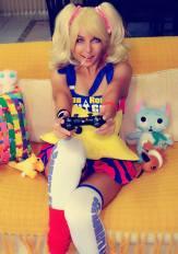 Shermie cosplay lollipop chainsaw gata