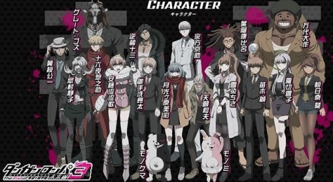 Danganronpa 3 The end of kibougamine gakuen - Future arc