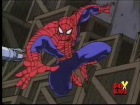 homem aranha animated