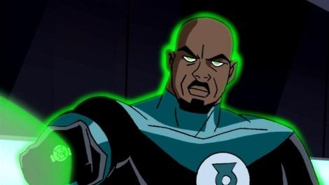 John Stewart Lanterna Verde Negro muito famoso... será o Sétimo Membro?