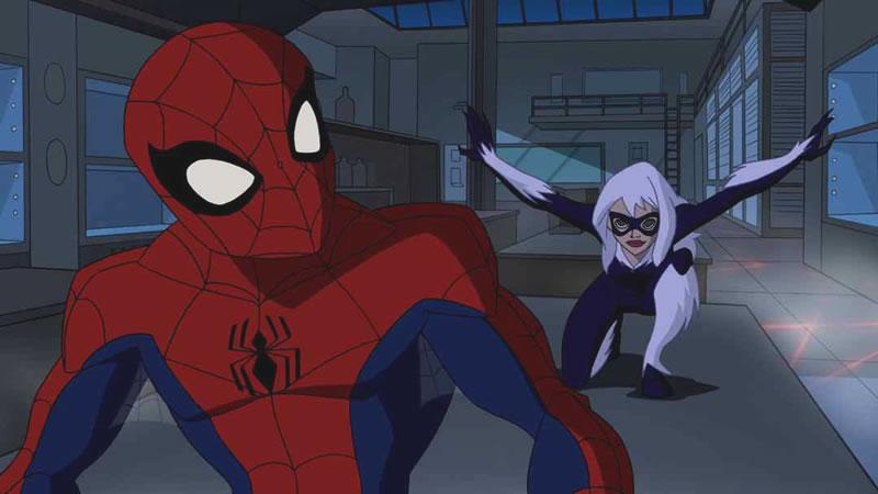 Ele e a Gata-negra... malz não achei uma da Gwen