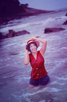 Cosplay Ju Tsukino Monkey D. Luffy One Piece
