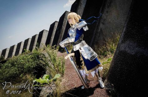Cosplay Saber Ju Tsukino perfect amazing