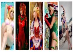 ju tsukino cosplay gata wall