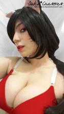 Ahri sexy cosplay gostosa Juka Crasoves