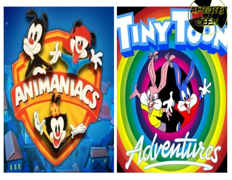 Animaniacs e Show dos Tiny Toon Adventures