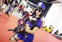 Caitlyn Cosplay sexy league of legends Angie Starling gostosa sexy police