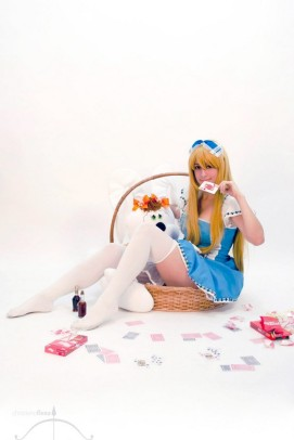 cosplay Alice wonderland sexy gostosa Dy Chan