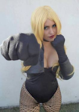 Cosplay Angie Starling Canário Negro sexy black canary cosplay