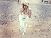 emma frost cosplay sexy gata Luna Gabriella