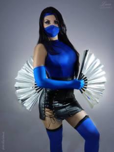 kitana cosplay sexy gostosa Luna Gabriella