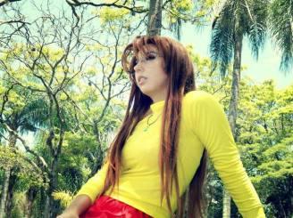 Naru Narusegawa Luna Gabriella Love Hina sexy cosplay