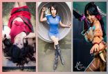 Nayigo cosplay sexy gata wall