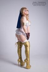 Shigi Queens Blade cosplay sexy gostosa Juka Crasoves