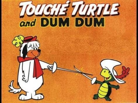 tartaruga touche e dum dum