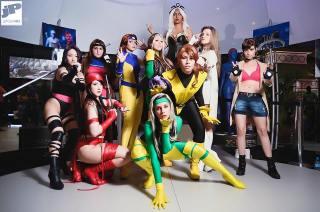 Tempestade cosplay Nayigo x-men cosplay