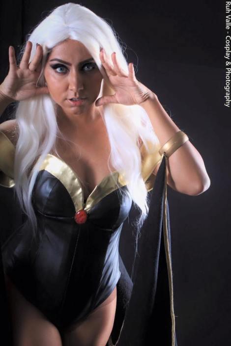 Tempestade cosplay Nayigo storm x-men