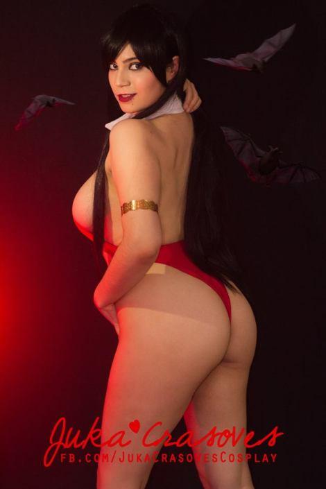 Vampirella cosplay sexy Juka Crasoves