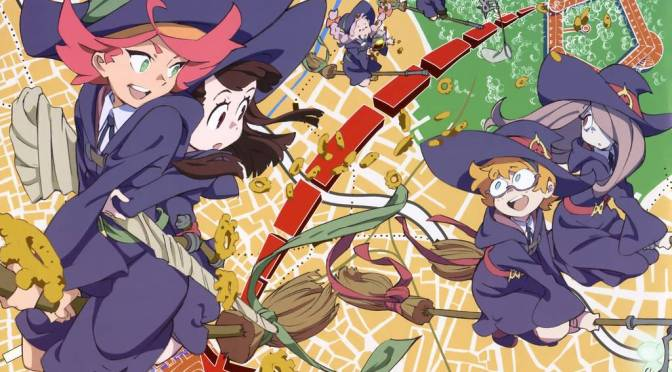 Little Witch Academia Ganha Anime em 2017 – Veja o Trailer!