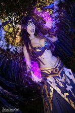Adami Langley cosplay Morgana big boobs lol sexy gostosa